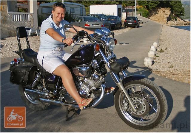 Pierwsza przymiarka dopoważnego motocykla