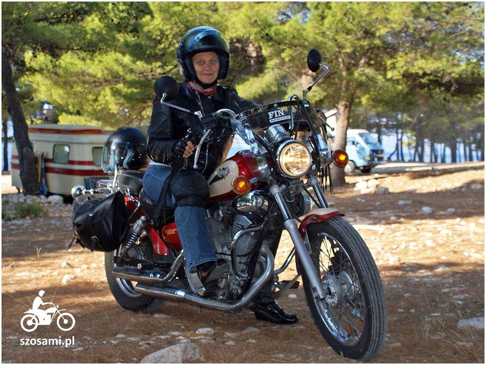 Strój na motocykl